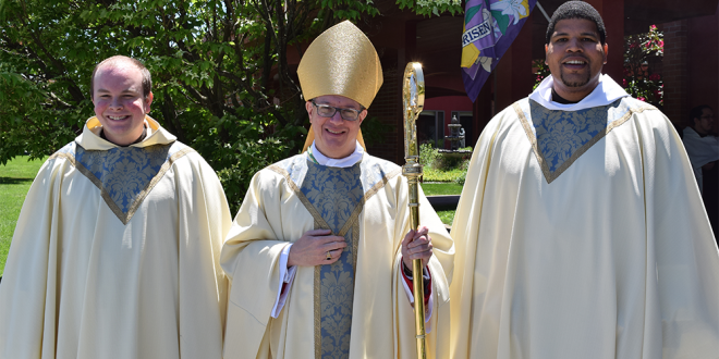 Rev. Paul Richmond, O.Carm., Rev. Mikhail Wodruffe, O.Carm.