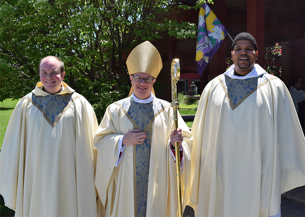 Rev. Paul Richmond, O.Carm., Rev. Mikhail Wodruffe, O.Carm.